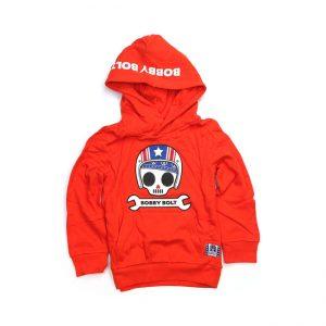 Bluza dziecięca hoodie BOBBY BOLT USA Orange
