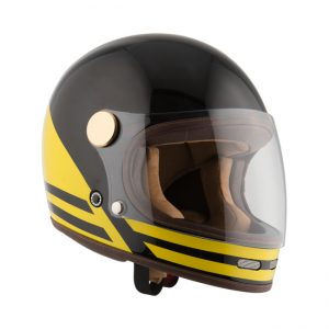 Kask By City Roadster Black Yellow